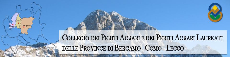 Collegio Professionale dei Periti Agrari e dei Periti Agrari Laureati delle Province di Bergamo Como Lecco